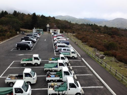 大間々大駐車場