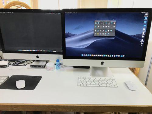 新旧のiMac