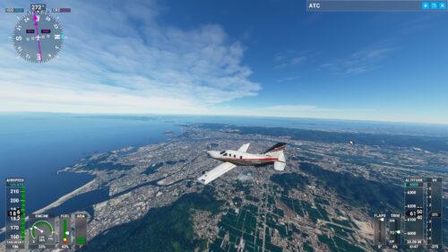 和歌山上空