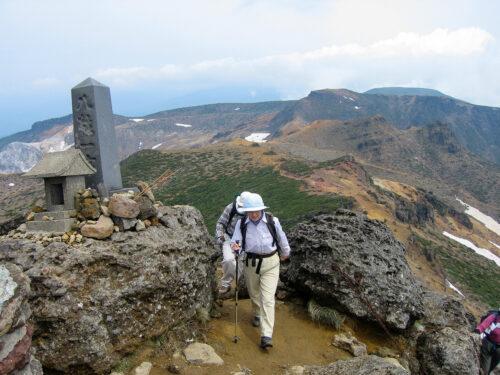 安達太良山山頂