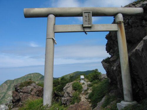 富士浅間神社 奥の院